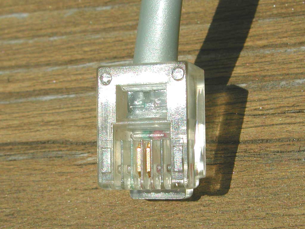 Outside Cable Plant Home Telephone Wiring Block Terminal The First Step Is To Notice What Actually Comes Out Of Our If You Look Closely At Rj 11 Registered Jack Youll Typically See Two Gold